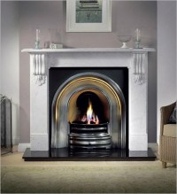 Modern Fireplace Surrounds Ideas