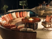 Patio Furniture Set With Fire Pit Table