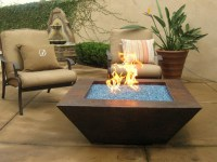 Patio Table With Fire Pit | FIREPLACE DESIGN IDEAS
