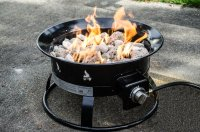 Portable Gas Fire Pit Outdoor