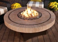 Portable Outdoor Gas Fire Pit | FIREPLACE DESIGN IDEAS