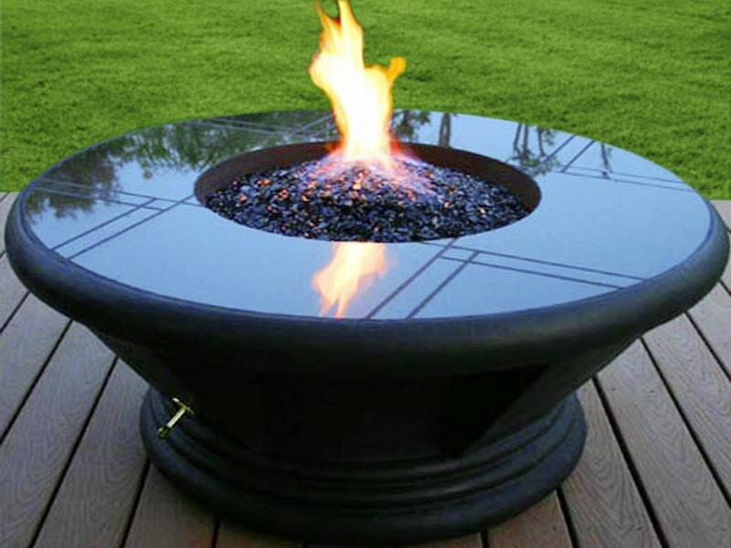 Portable Propane Outdoor Fire Pit  FIREPLACE DESIGN IDEAS
