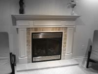 White Fireplace Mantels | FIREPLACE DESIGN IDEAS