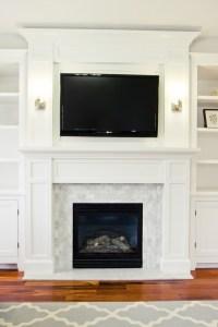 White Tile Fireplace Surround | FIREPLACE DESIGN IDEAS