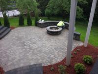 Backyard Patio Ideas With Fire Pit | FIREPLACE DESIGN IDEAS