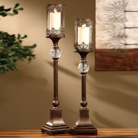 Pillar Candle Holders For Fireplace | FIREPLACE DESIGN IDEAS