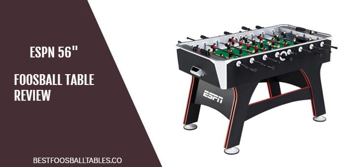 ESPN Foosball Table Review