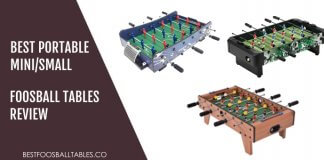 Best Mini Small Foosball Tables Reviews