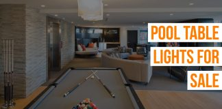 Pool Table Lights for Sale