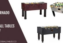Tornado Foosball Tables Review