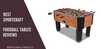 Best Sportcraft Foosball Table Reviews