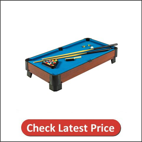 Hathaway Sharp Shooter Portable Table Top Pool Table