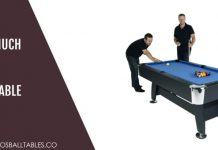 How to Set Up Pool Table