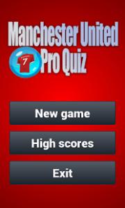 Pro Quiz Man United