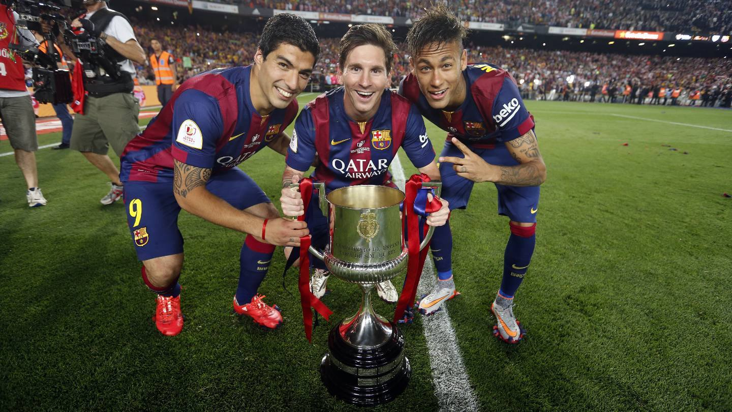Spectacular goal from Messi helps Barca to Copa del Rey