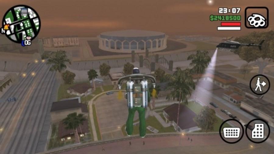 GTA San Andreas apk gameplay Android