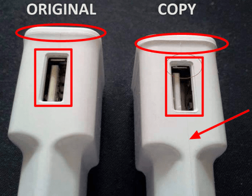 Battery Charger 1 - Fake vs Genuine Samsung Chargers/USB Cables