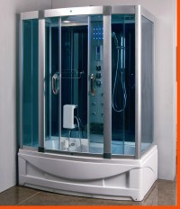 Steam Shower Room With deep Whirlpool Tub.Heater (1500W ...