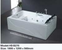 2 PERSON Deluxe Computerized Whirlpool, Jetted Bathtubs