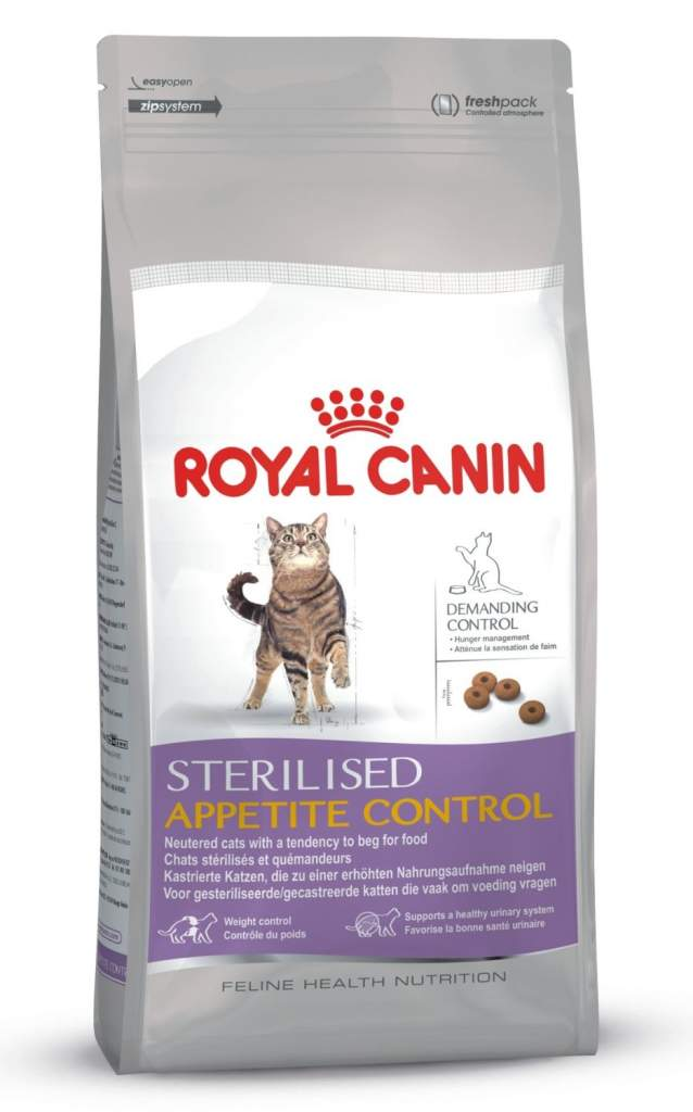 Royal Canin Sterilised Appetite Control Dry Cat Food