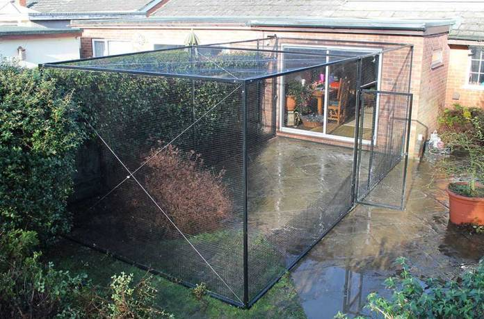 The ProtectaPet Freestanding Cat Enclosure