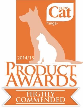 Your Cat Product Awards Logo 2015