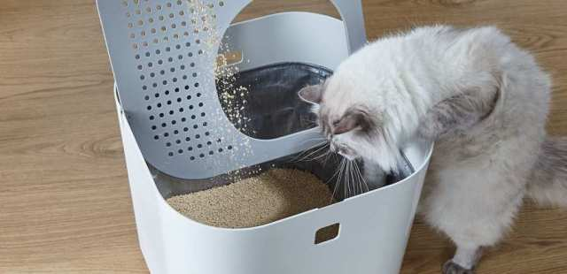 The Modkat Litter Box looks great and virtually eliminates litter tracking