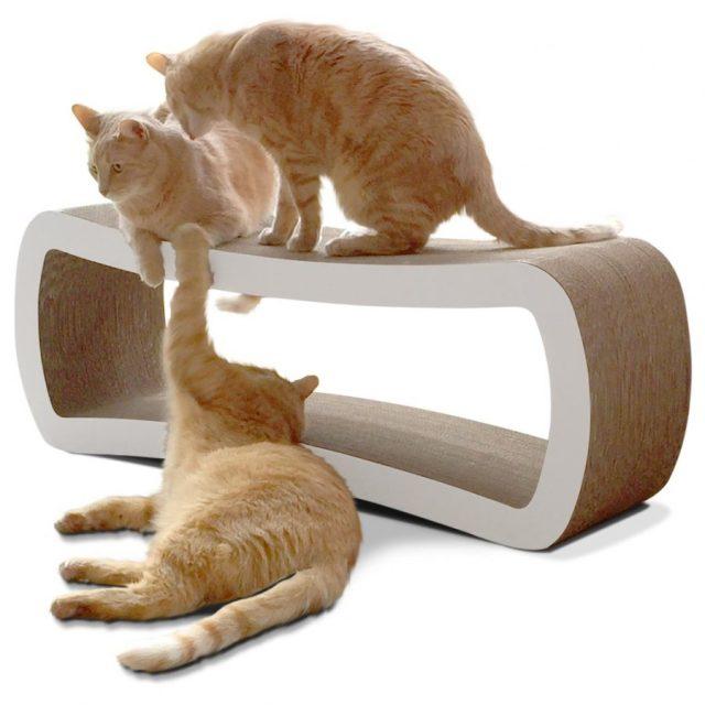 The PetFusion Jumbo Cat Scratcher Lounge