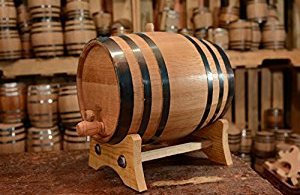 How to convert a barrel of wine to a rain barrel