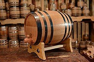 How to convert a barrel of wine to a rain barrel