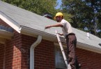 How to repair a gutter guard