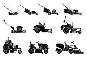what are the different types of lawn mowers