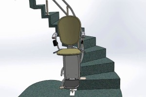 Stairlifts for Curved and Spiral Stairs