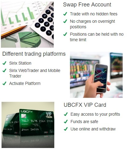 UBCFX demo account