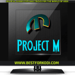 Install Project M Kodi addon