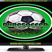 Guide Install Pure Soccer Kodi Addon Repo