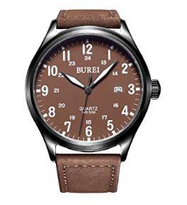 Burei Unisex Date Quartz Watch