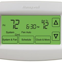 Old Honeywell Room Thermostat Wiring Diagram Ford Fiesta Mk7 House | Get Free Image About