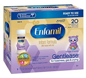 Best Baby Formula for Gassy Babies with Sensitive Tummies