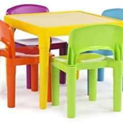 Kids Chair Set Swivel Van Best Toddler Table Sets For All Kinds Of Activities Tot Tutors Plastic