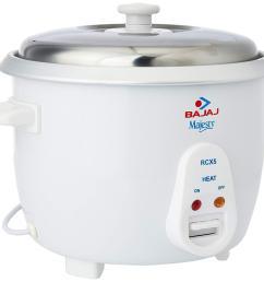 bajaj rcx 5 1 8 litre rice cooker [ 1500 x 1401 Pixel ]