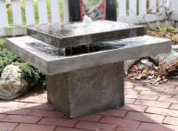 Concrete Water Fountain | Fountain Design Ideas