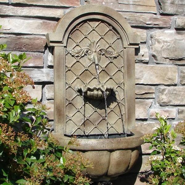 Garden Wall Water Fountains Outdoor