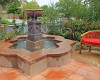 How To Paint A Concrete Water Fountain | Fountain Design Ideas