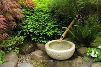Japanese Garden Fountain Bamboo