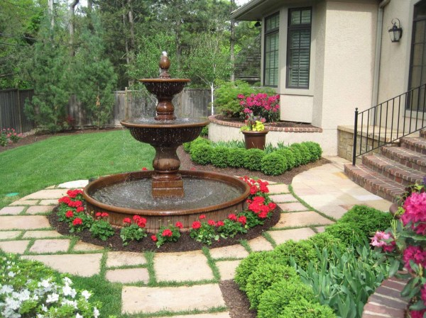 landscape water fountains