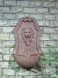 Lions Head Wall Fountain   Fountain Design Ideas