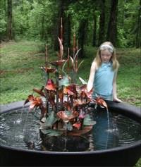 Outdoor Copper Garden Fountains | Fountain Design Ideas