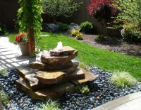 Outdoor Patio Fountains | Fountain Design Ideas