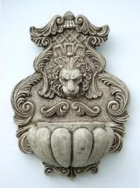 Stone Lion Head Wall Fountain   Fountain Design Ideas